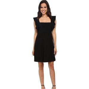 French Connection Little Black Dress 2 Flutter XS